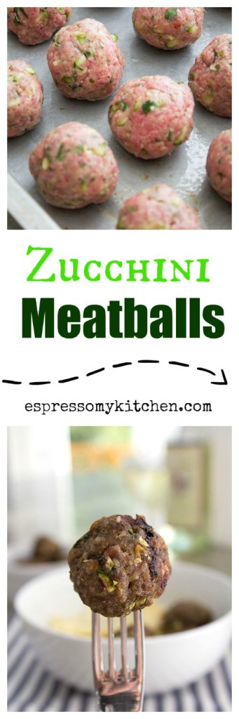Zucchini Meatballs |These Zucchini Meatballs are tender, moist, and loaded with bursting flavors that will make you come for seconds