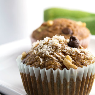 Coconut Zucchini Muffins |These Coconut Zucchini Muffins are moist, healthy, nutrient packed from coconut sugar and zucchini and make a nice guilt-free treat! | espressomykitchen.com