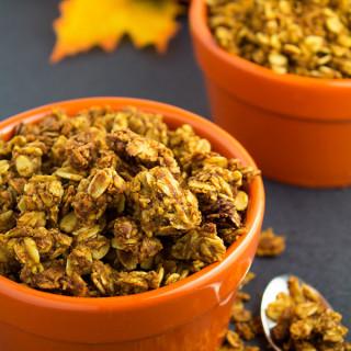 easy pumpkin granola