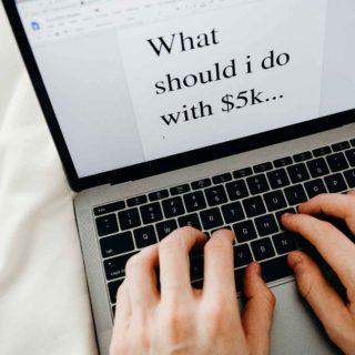 What should I do with 5k | espressomykitchen.com #finance